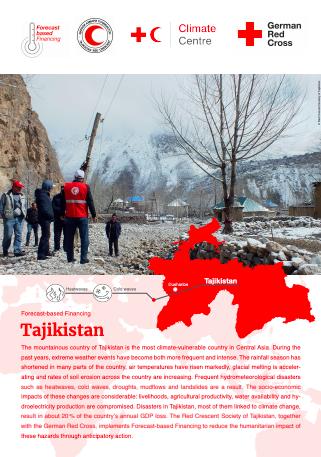Forecast-based Financing: Tajikistan