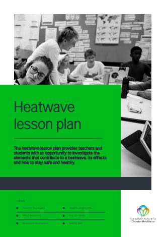 Heatwave lesson plan