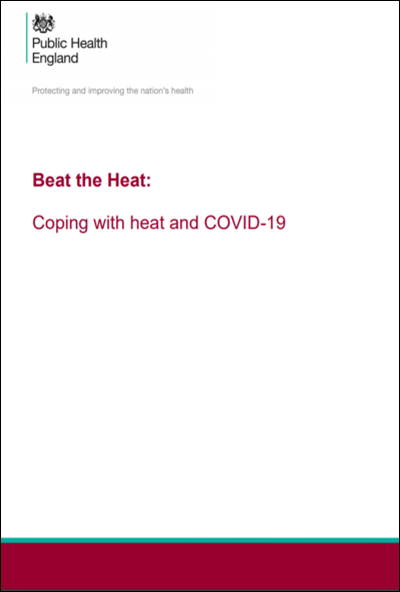 Beat the Heat: Coping with heat and COVID-19 in the UK